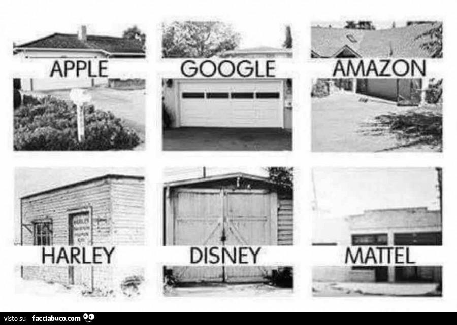 Quando le grandi aziende lavoravano ancora nei garage di for Garage di casa