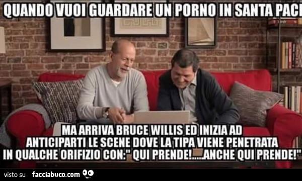 Bruce Willis porno